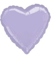 "32"" Large Balloon Lilac Heart"