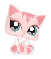 "28"" Littlest Pet Shop Balloons Pink Cat"