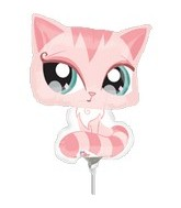 "14"" Airfill Only Littlest Pet Shop Balloon"