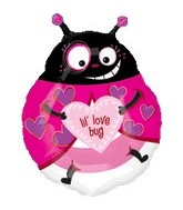 "21""Lil Love Bug Balloons"