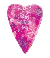 18&#39&#39 Happy Valentine&#39s Day Jr. Shape