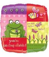 "18"" You&#39re Un_frog_ettable Love Balloon"
