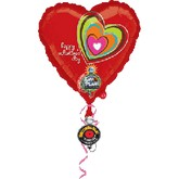 "32"" Valentine&#39s Day Recordable Colorful"