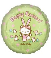 "18"" Hello Kitty Happy Easter Balloon"