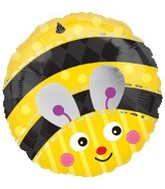 "18"" Cute Bumble Bee Mylar Balloon"