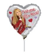 "9"" Hanna Montana Valentine You Rock"