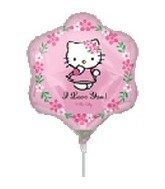 (Airfill Only) Hello Kitty Balloon Love You Shape