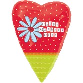 "18"" Jr. Shape Happy Mother&#39s Day Balloon"