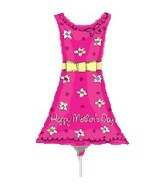 "14"" Airfill Happy Mother&#39s Day Dress"