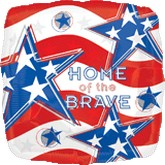 "18"" Home Of The Brave"