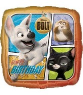 "18"" Disney Bolt Birthday Balloons"