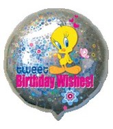 "18"" Tweet Birthday Wishes! Foil Balloon"