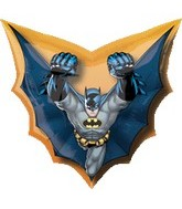 "28"" Batman Cape Shape Super Hero"