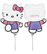 (Airfill Only) Hello Kitty Balloon Pink & Purple