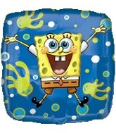 "18"" SpongeBob Balloon Joy Mylar Balloon"