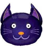 "24"" Eye Popper Cat Balloons"