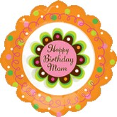 18 Shape Birthday Mom Flower (Desc)