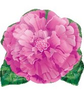 "18"" Pink Flower Shape Balloon"