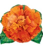 "18"" Orange Flower Shape Balloon"