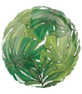 "18"" Island Palms Clear Balloon"