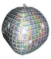 "15"" Airfill Only Disco Ball Balloon"