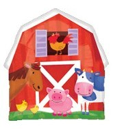 "22"" Jumbo Farm Animals Barnyard Fun"