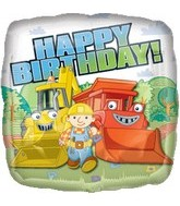 "18"" Bob the Builder Happy Birthday"