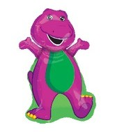 "34"" Barney The Dinosaur Balloon"