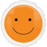 "18"" Magicolor Orange Smiley Face"