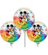 "9"" EZ Fill Airfill Mickey with Sticks (3 Pack)"