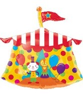 "23"" Jumbo Clown Balloon Circus Tent"
