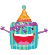 "24"" Happy Present Party Animal Balloon"