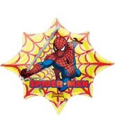 "35"" Spiderman Web Balloon (disc)"