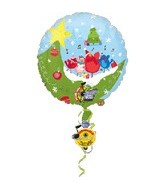 "32"" Recordable Muscial Winter Scene Balloon"