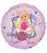 "18"" Barbie Sparkle Happy  Birthday"
