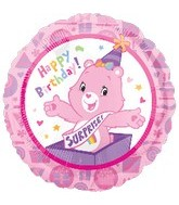 "18"" Care Bears Birthday Mylar Balloon"