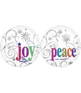 18&#39&#39 Joy to World and Peace on Earth