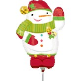 Airfill Only Mini Shape Shape Jolly Snowman
