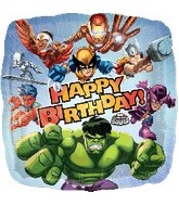 "18"" Marvel Hero Squad Birthday Balloon"