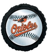 "18"" MLB Baltimore Orioles Baseball"