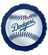 "18"" MLB Los Angeles Dodgers Baseball"