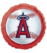 "18"" MLB LA Angels of Anaheim Baseball"