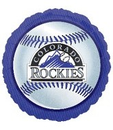 "18"" MLB Colorado Rockies Baseball"