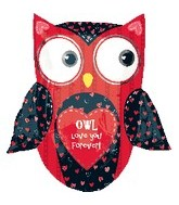"27"" Love Owl SuperShape"