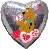 "18"" Scooby Love Balloon"