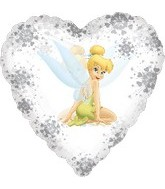 "18"" Disney Fairies Tinker Bell Clear"