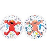 "26"" Elmo See Through Balloons"