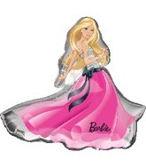 "32"" Barbie Glamour Dress Balloon"