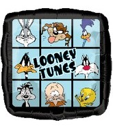 "18"" Looney Tunes Squares Foil Balloon"