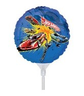 "9"" EZ Fill Airfill Hot Wheels With Sticks (3 Pack)"